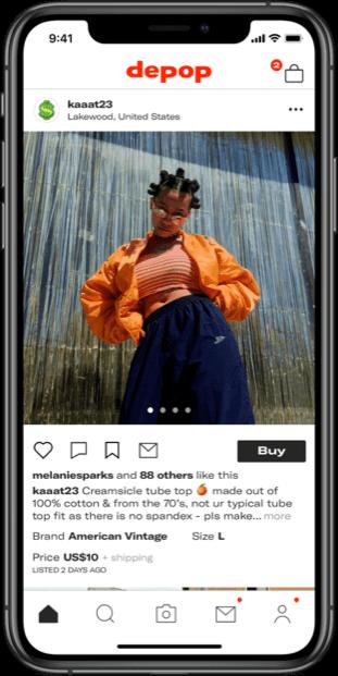 a25eabafea413b Depop - The creative community's mobile marketplace